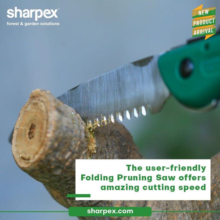 Sharpex Engineering,  FoldingPruningSaw, CreativeGardeningAccessory, GardeningAccessories, GardeningTools, ModernGardeningTools, GardeningProducts, GardenProducts, Sharpex, SharpexIndia
