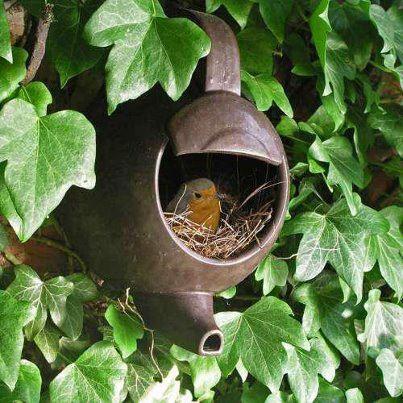 creative use of the tea pot..