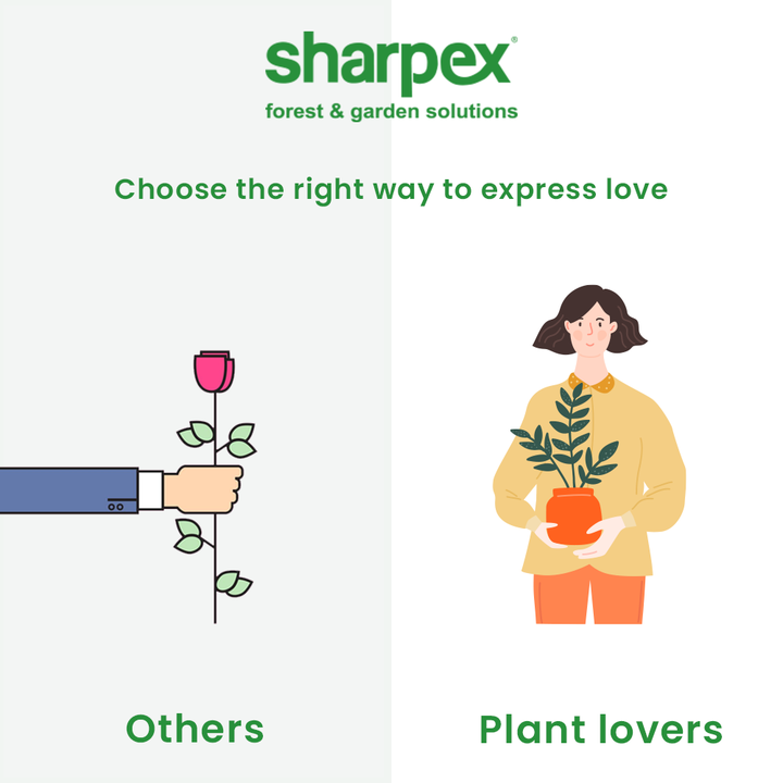 There will always be a thin life of difference between the ordinary people and the extra-ordinary plant lovers & that difference is the love for greenery.  Think like a plant lover and choose the right way to express love. Explore the joy of gardening and gifting with Sharpex Gardening And Community.  #JoyOfGardening #GardeningAccessories #GardeningTools #ModernGardeningTools #GardeningProducts #GardenProducts #Sharpex #SharpexIndia