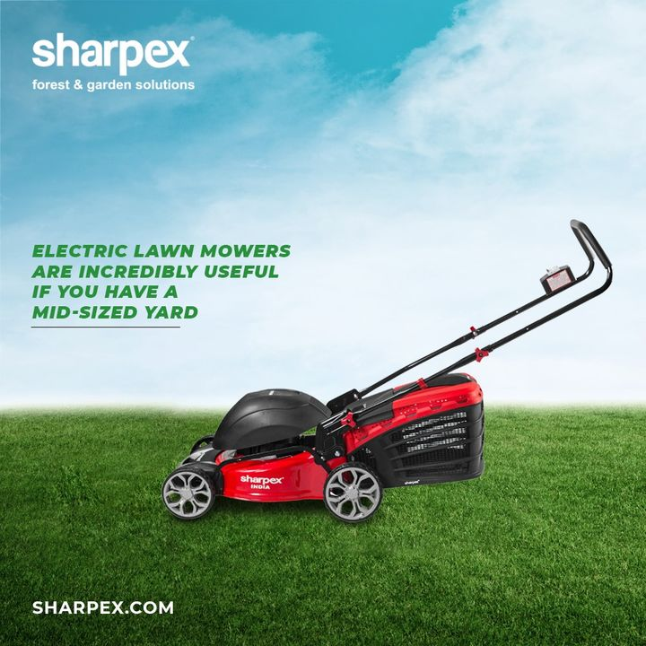 Sharpex Engineering,  ElectricLawnMower, JoyOfGardening, GardeningAccessories, GardeningTools, ModernGardeningTools, GardeningProducts, GardenProducts, Sharpex, SharpexIndia