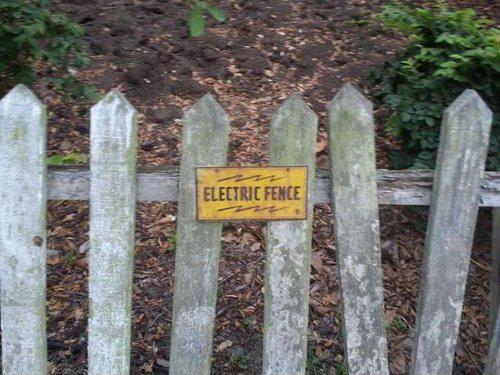 Dangerous fence ever