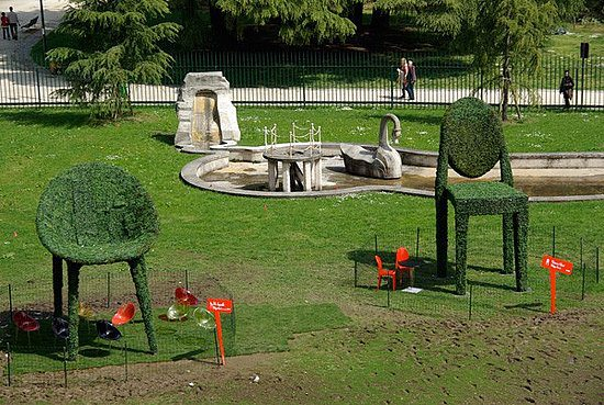 Milan Kartell Garden design