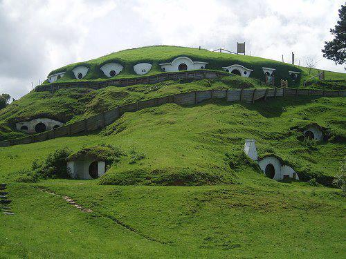 Hobbit Houses, New Zealand