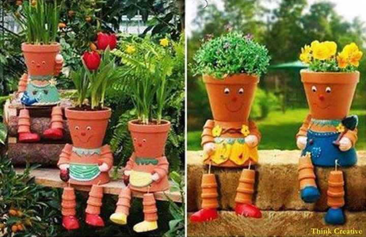 Creative Clay Pots!