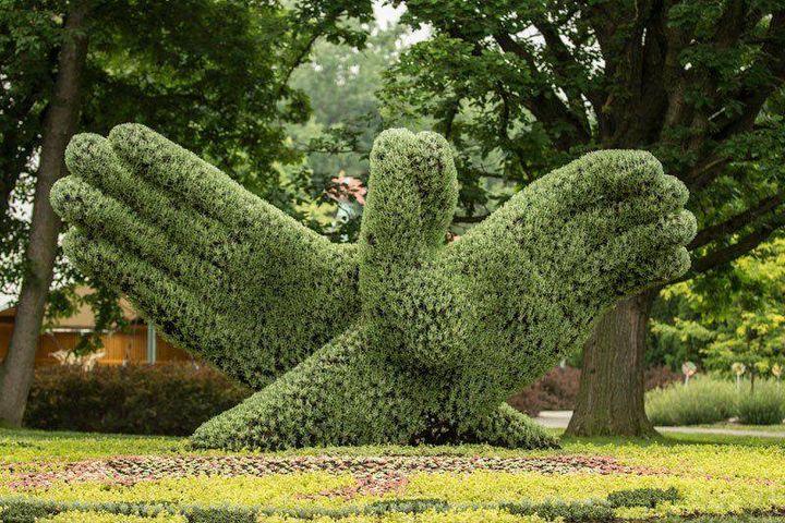 Garden Sculpture Montréal Garden show -02