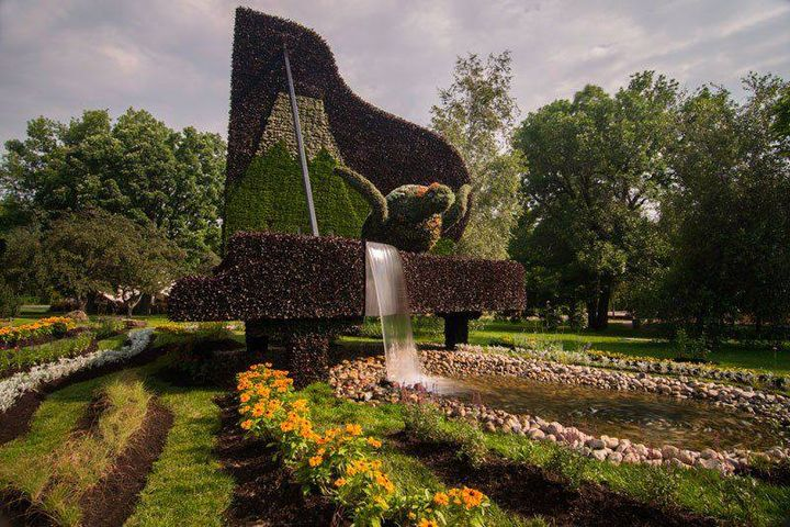 Garden Sculpture Montréal Garden show -03