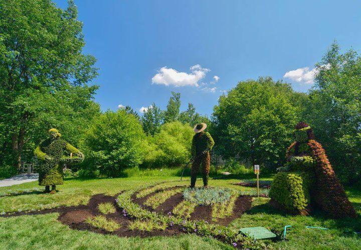 Garden Sculpture Montréal Garden show -05