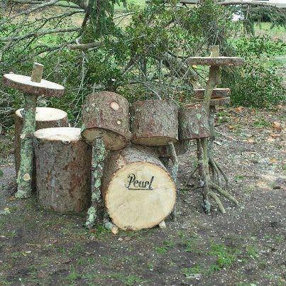 wood #drum decoration!!