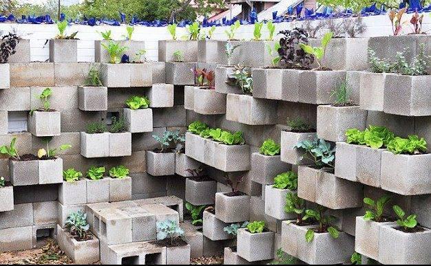 vertical garden concept!