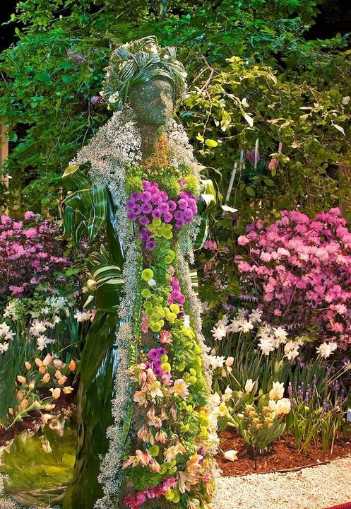 Gardening-Ideas-Beautiful-Lady-#Flower-#Landscaping-Garden