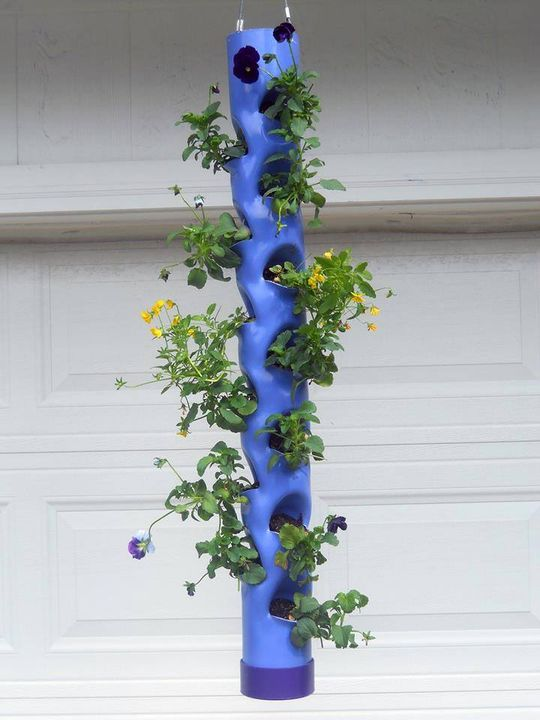 Vertical planter!