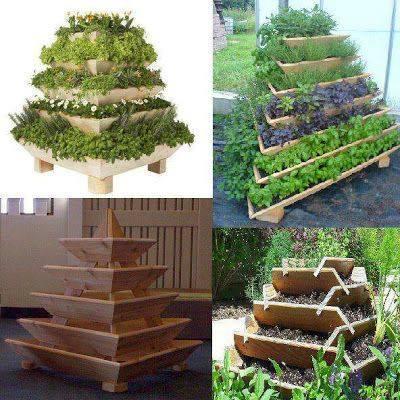Space Saving Garden Idea!