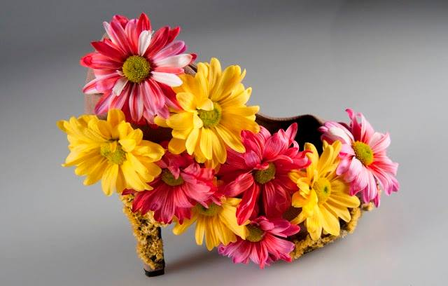 Real #Flower Shoe..!!!