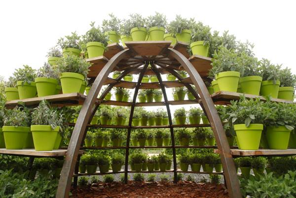 Garden partition ideas...
