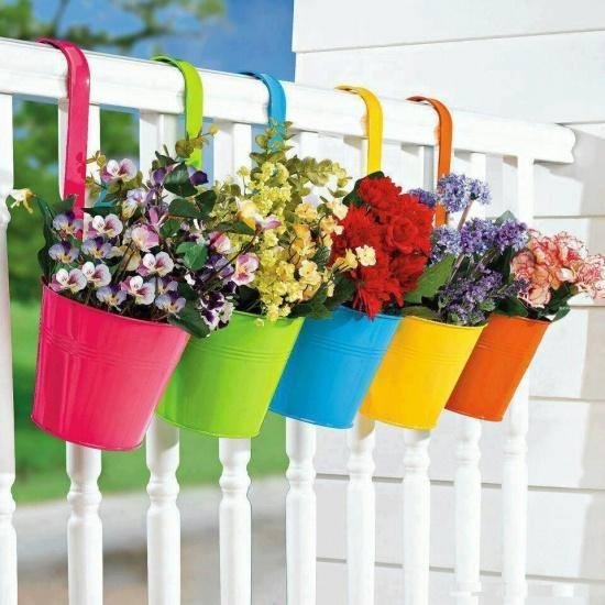 Balcony decoration idea for small space.!!!  #garden #flowers #decoration #idea
