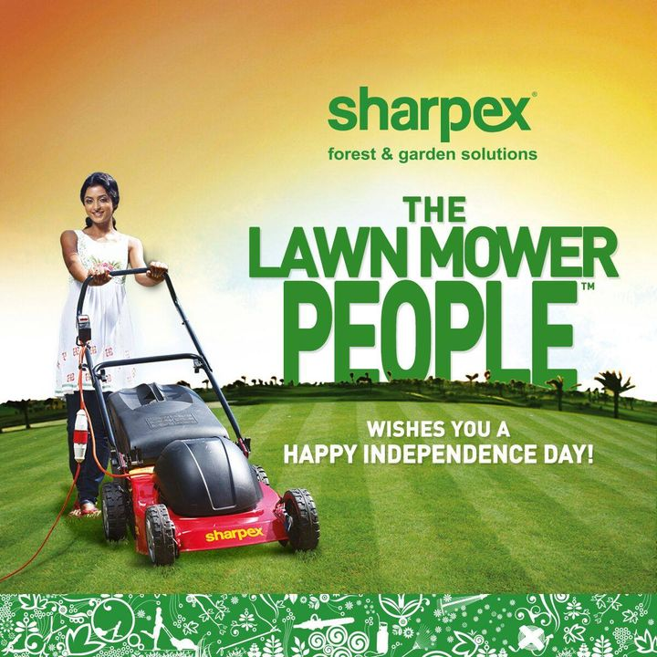 Happy Independence Day to all our fans in Sharpex Gardening Community.