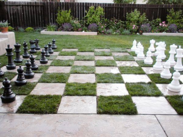 Chess Lawn Garden...!!!