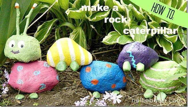 rock caterpillar!