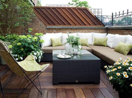 Terrace #BalconyGarden Design..!!!