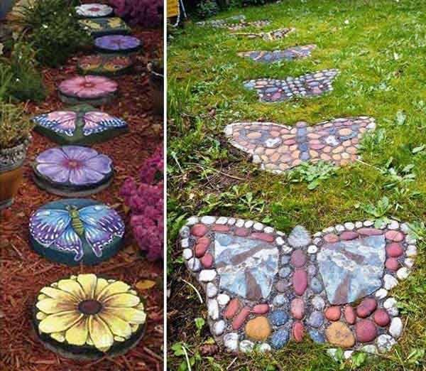 butterfly walkway garden