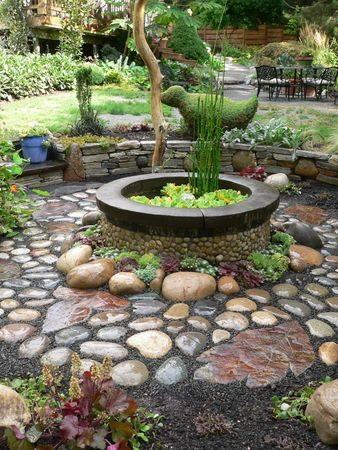 Amazing garden focal point