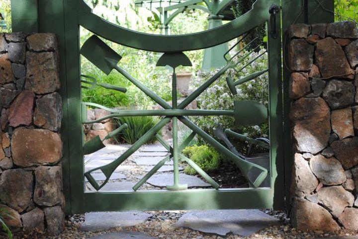 nice garden gate! #gardengate