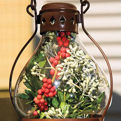 Outdoor #garden party decoration idea for #Christmas