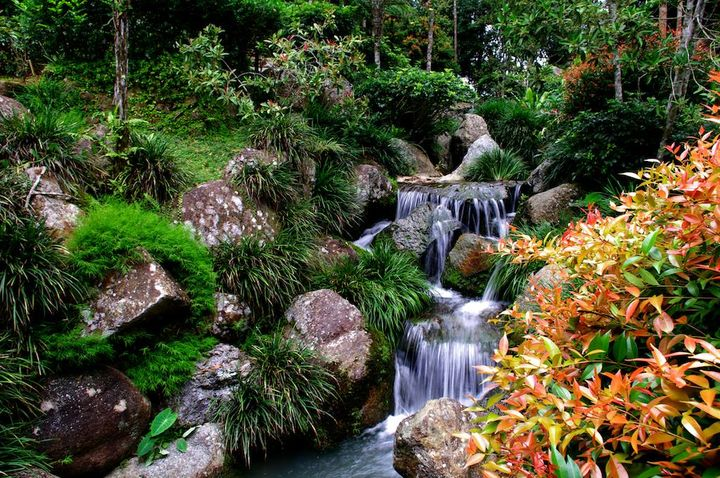 Beautiful Japanese Garden at Malaysia..!!