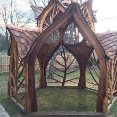wooden #Gazebo