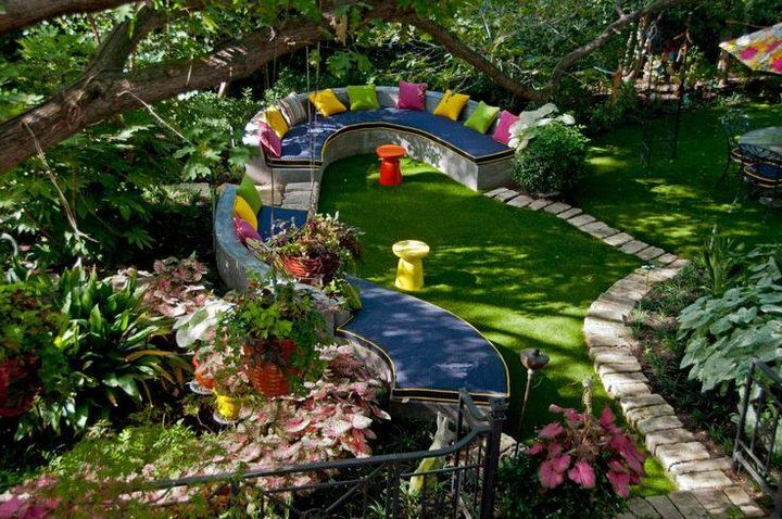 Beutiful family seating idea for outdoor #garden