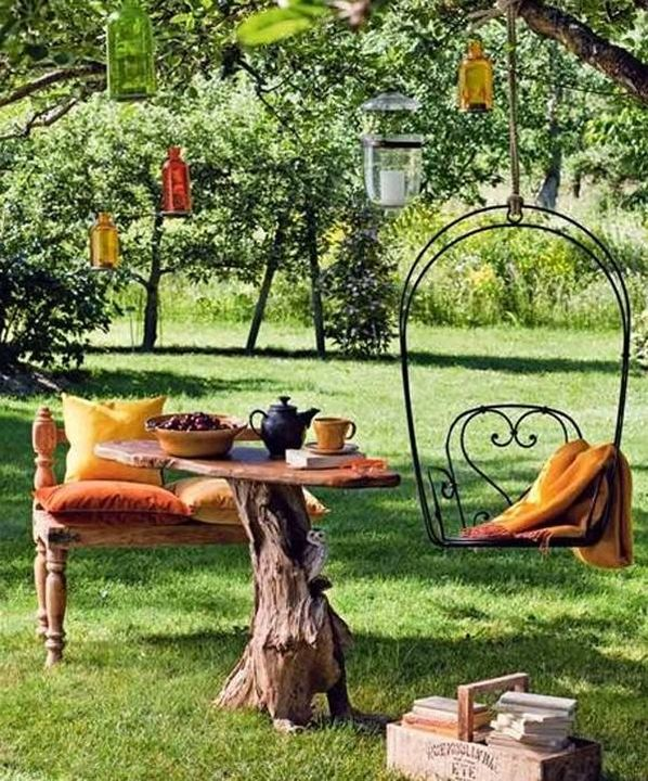 outdoor garden idea!