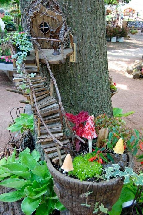 miniature gardening idea!