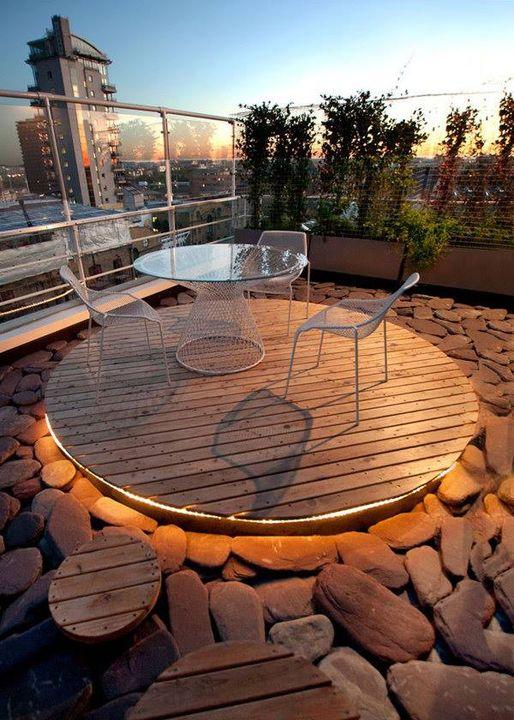 Amazing Stone Rock Roof Garden!
