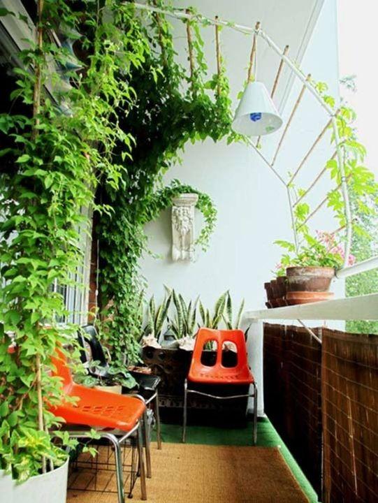 adorable balcony garden #balconygarden