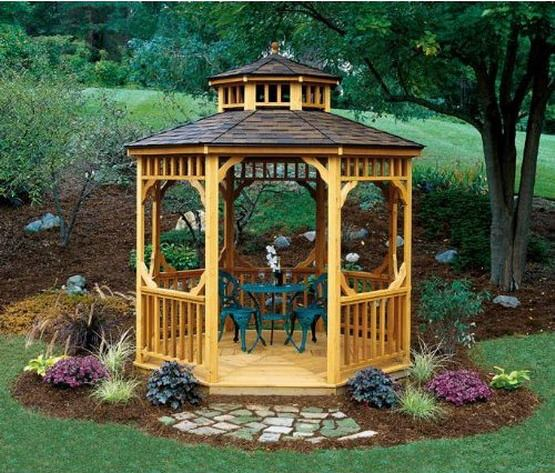 Gazebo Design Idea!! #Gazebodesign
