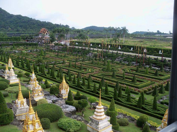 Nongnooch Botanical Garden, Thailand