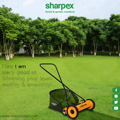 Connect us if you too wish to trim your lawn swiftly & smoothly!   #GardeningTools #ModernGardeningTools #GardeningProducts #GardenProduct #Sharpex #SharpexIndia