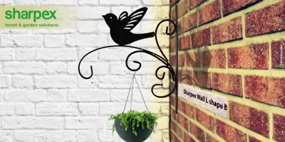 Sharpex Wall L shape Bracket Hanger  Let Sharpex give and essence of art to your gardening space  https://sharpexindia.com/  #Lawncare #Simplygardenspares #Selfpropelledlawnmower #gardenstorage #Growwithgarden #Lawnmowerrepairs #Bracket #Hanger
