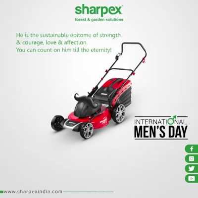He is the sustainable epitome of strength & courage, love & affection. You can count on him till the eternity!  #InternationalMensDay #MensDay #MensDay2019 #SharpexIndia #GardeningTools #ModernGardeningTools #GardeningProducts #GardenProduct #Sharpex