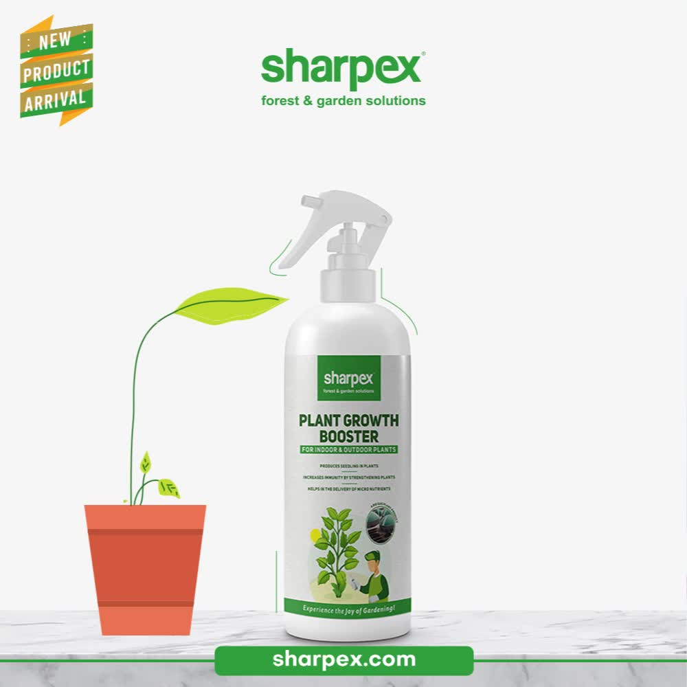 Be an evergreen plant lover and take good care of your plant leaves!   Cure the leaf nutrient deficiency and discover the possibility of boosting your plant's immunity with the newly launched Plant Growth Booster from Sharpex Gardening And Community.   #PlantGrowthBooster #CreativeGardeningAccessory #GardeningAccessories #GardeningTools #ModernGardeningTools #GardeningProducts #GardenProducts #Sharpex #SharpexIndia