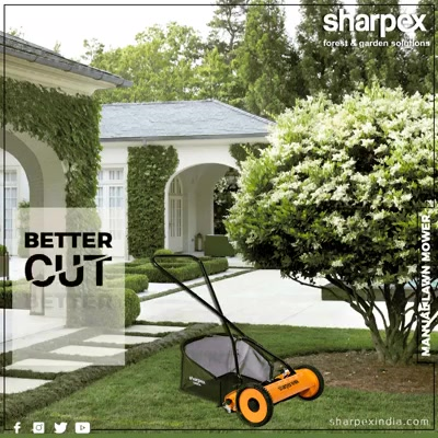 The Sharpex Lawn Mower with Grass Catcher is the perfect addition to our garden accessories. This will help you to maintain and clean the garden area. It assists to cut the excess growth of the grass; it is lightweight, easy to operate with no maintenance. It is perfect for the small as well as big lawns.  #GardeningTools #ModernGardeningTools #GardeningProducts #GardenProduct #Sharpex #SharpexIndia