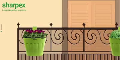 Bloom up your space with balcony gardening  https://sharpexindia.com/  #Lawncare #Simplygardenspares #Selfpropelledlawnmower #gardenstorage #Growwithgarden #Lawnmowerrepairs